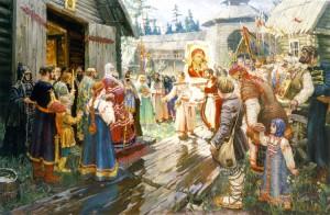 Обретение иконы в Казани
