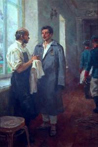 Пирогов и матрос Кошка
