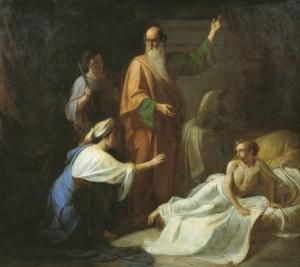 Воскрешение сына сарептской вдовы