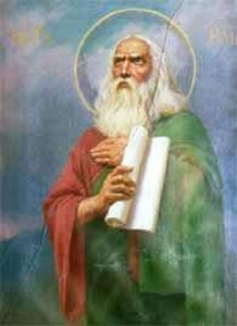 Илия видит Бога