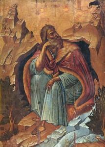 Илия с вороном