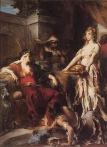 Голова Иоанна для Иродиады Леопольд-Анри Леви