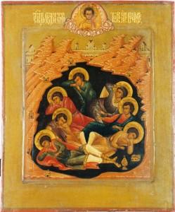 Семь отроков икона
