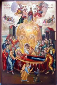 Успение Пресвятой Богородицы и собрание апостолов2