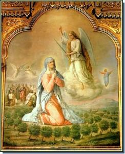 Явление Ангела Богородице