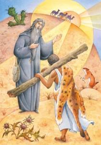 Макарий и жрец