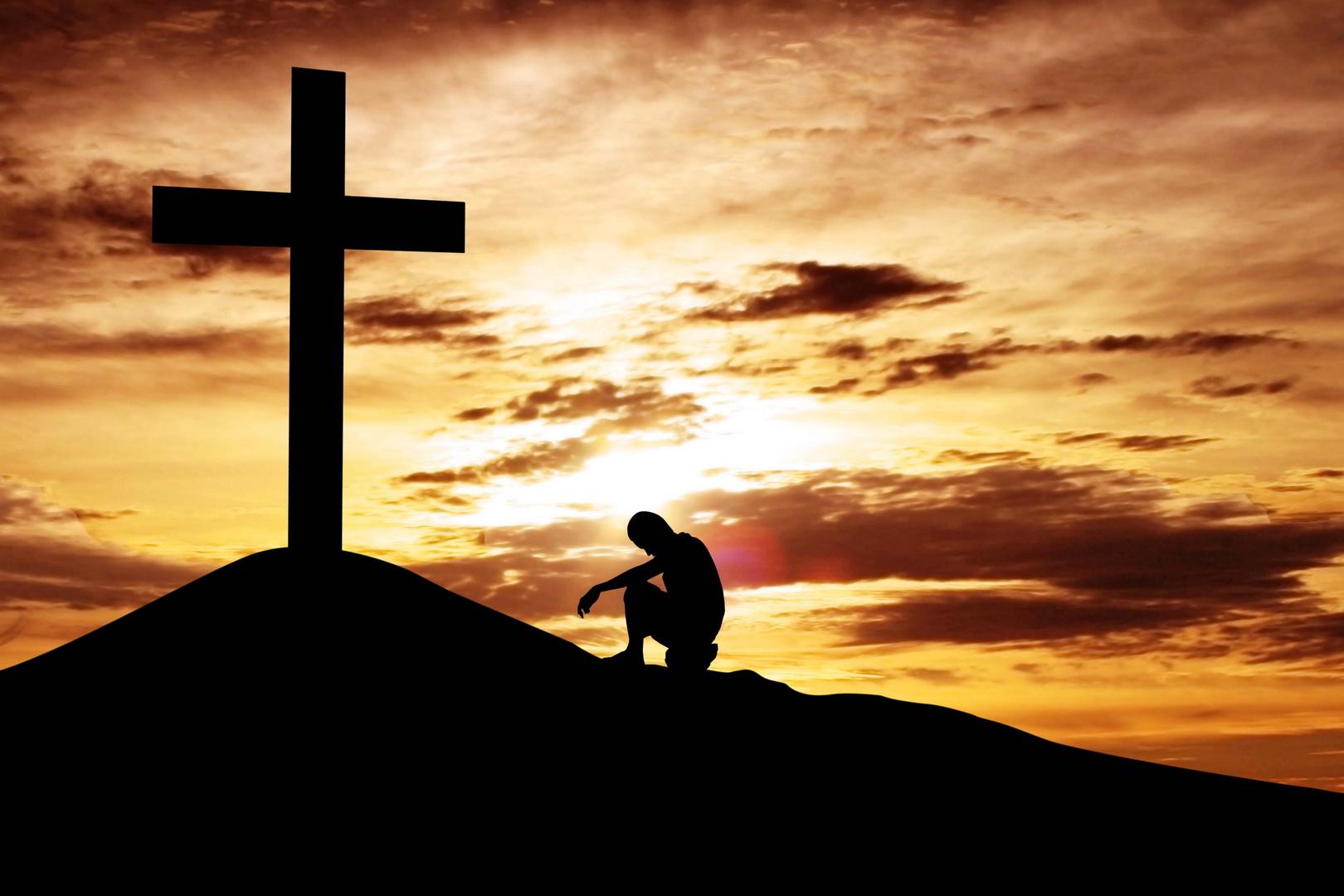 если на фото человека нарисовать крест мифологии
