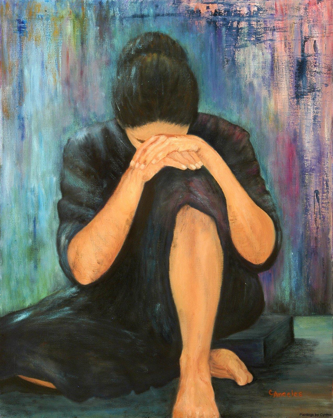 Картинки о страдание