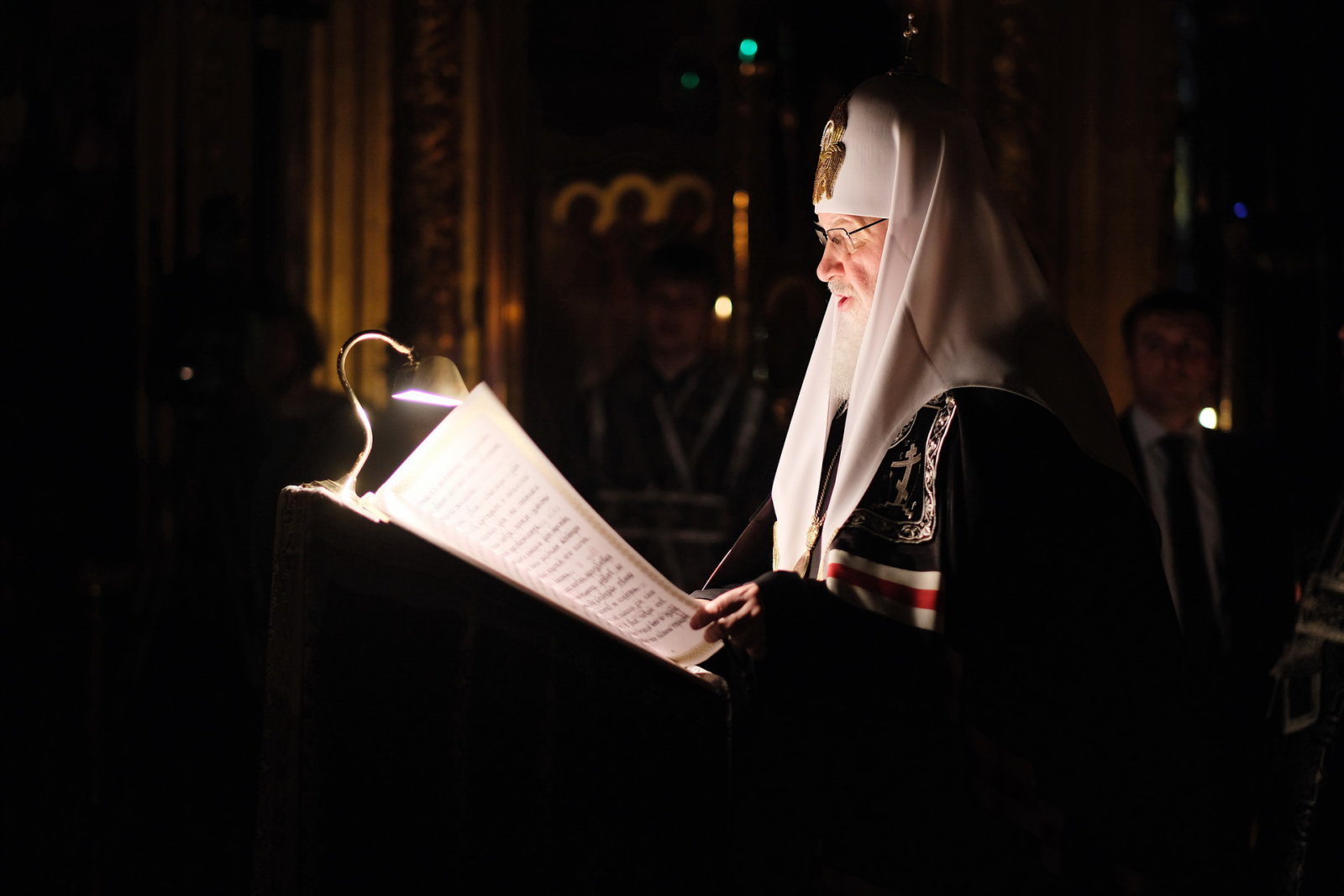 канон великий святого андрея критскго читает патриарх кирил
