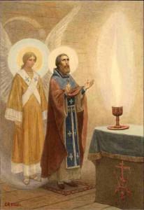 Ангел в алтаре