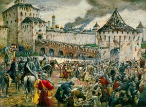 Освобождение Москвы от поляков в 1612 году
