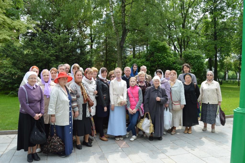 Паломники Богоявленского Собора в ТСЛ