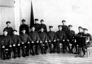 Первый состав Ансамбля Александрова